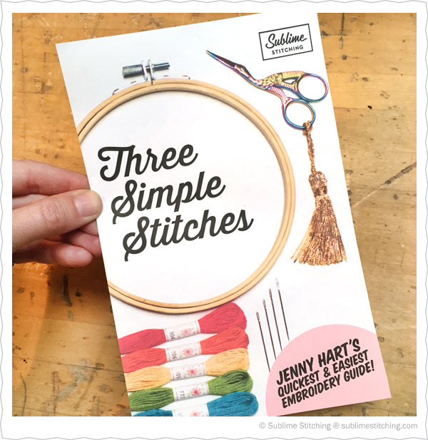 Three Simple Stitches by Jenny Hart