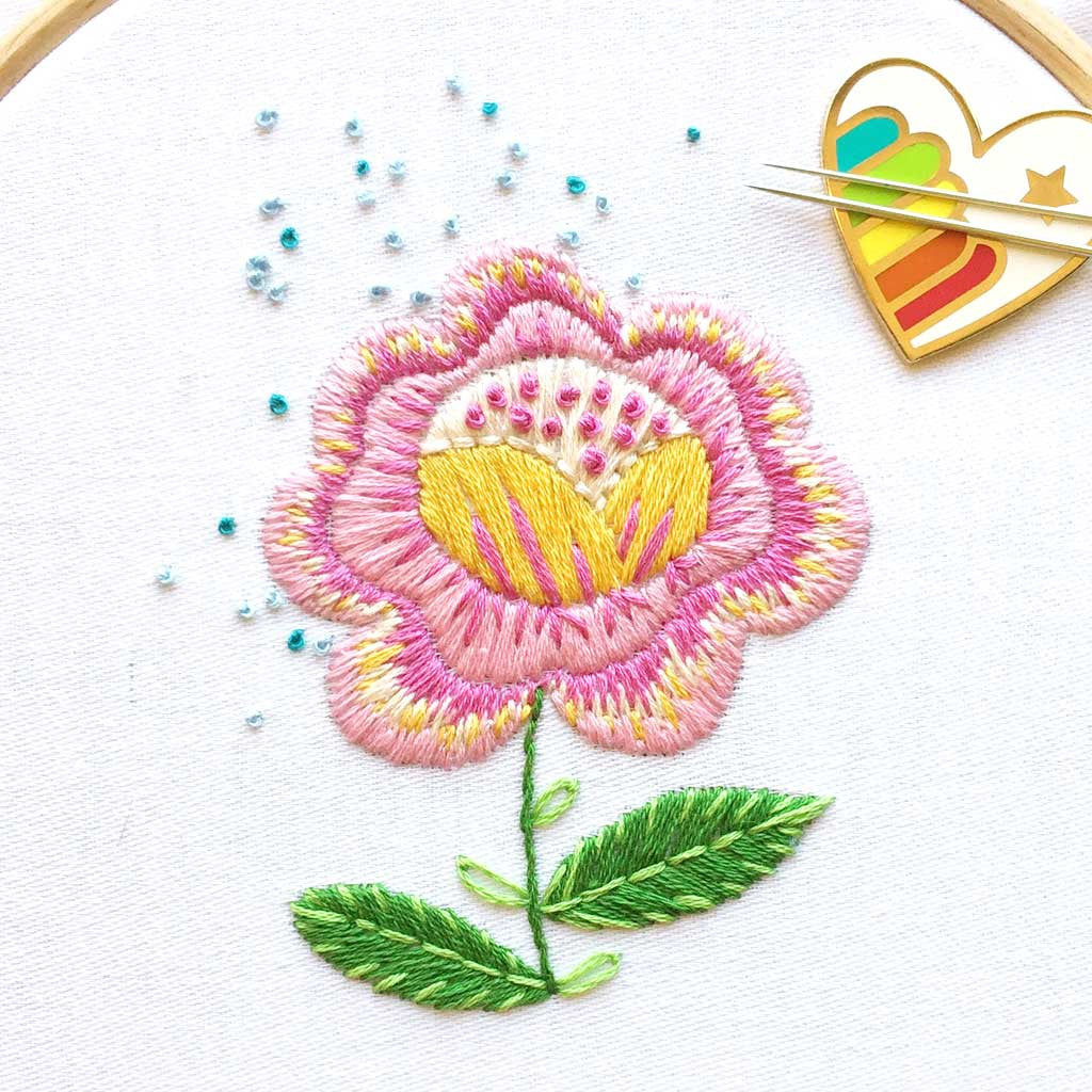 Fantasy Flowers Embroidery Patterns Are Back Sublime Stitching