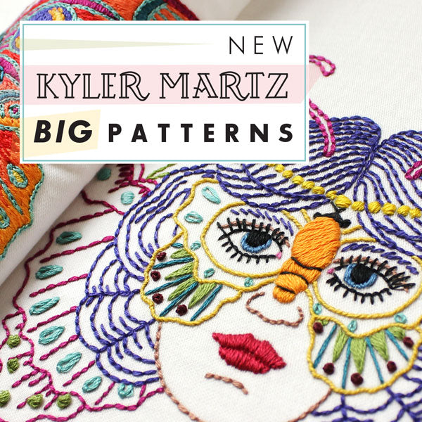 Kyler Martz Embroidery Pattern