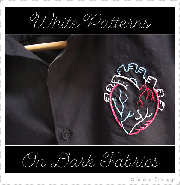 White Embroidery Patterns