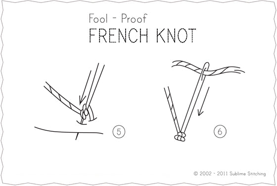 How to french knot the best instructions ever