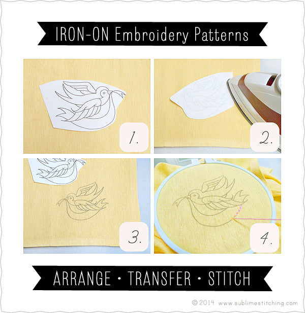 About Iron On Transfers And Pdfs Sublime Stitching
