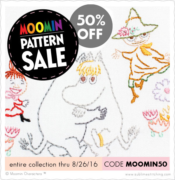 Moomin Pattern Sale