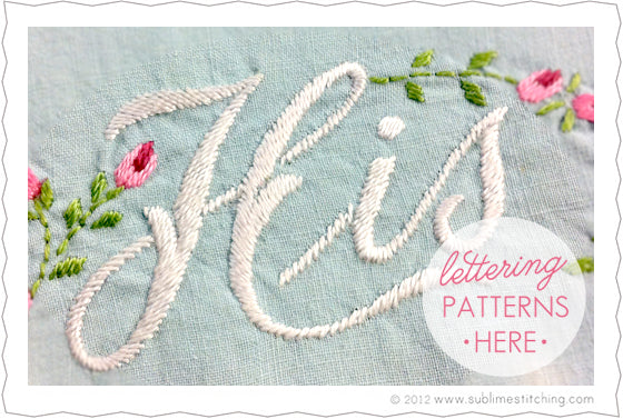 Embroidery How To Satin Stitch Sublime Stitching