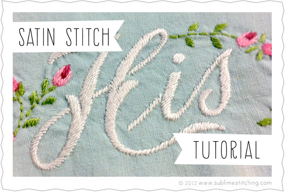 Sublime Stitching Hand Embroidery Tutorials
