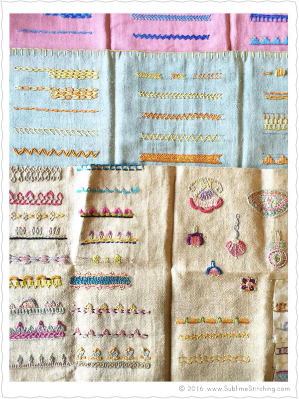 embroidery stitches by hand tutorial pdf
