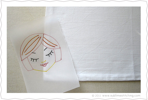 Embroidery How To Tracing Paper Transfer Pens Sublime Stitching