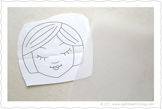 Embroidery HowTo Tracing Paper Transfer Pens Sublime Stitching Custom Pattern Tracing Paper