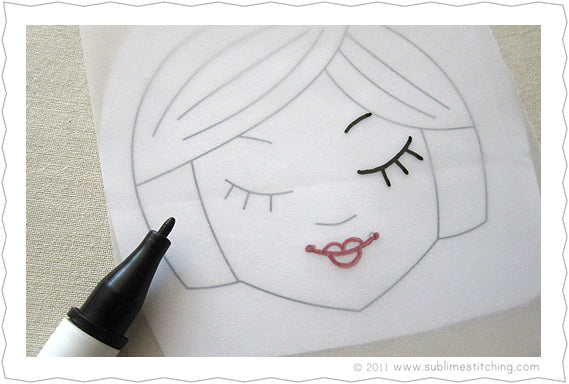 Embroidery How-To: Tracing Paper & Transfer Pens – Sublime Stitching