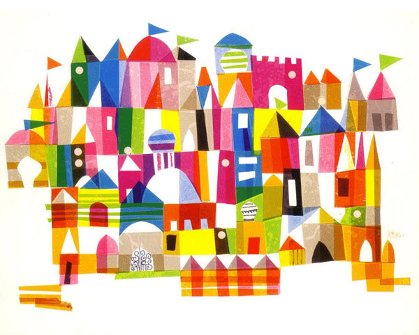 Mary Blair Happy Town