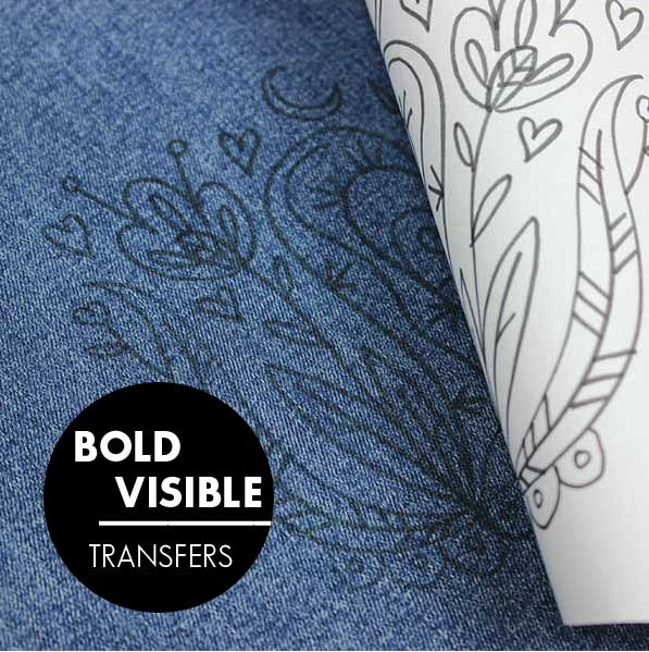Bold Tip Iron-On Transfer Pens
