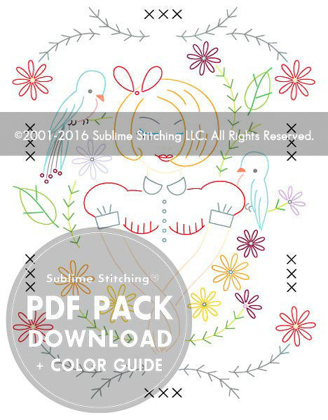 Dream Garden PDF Pattern