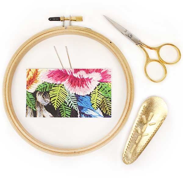 Essential Tool Kit for Hand Embroidery