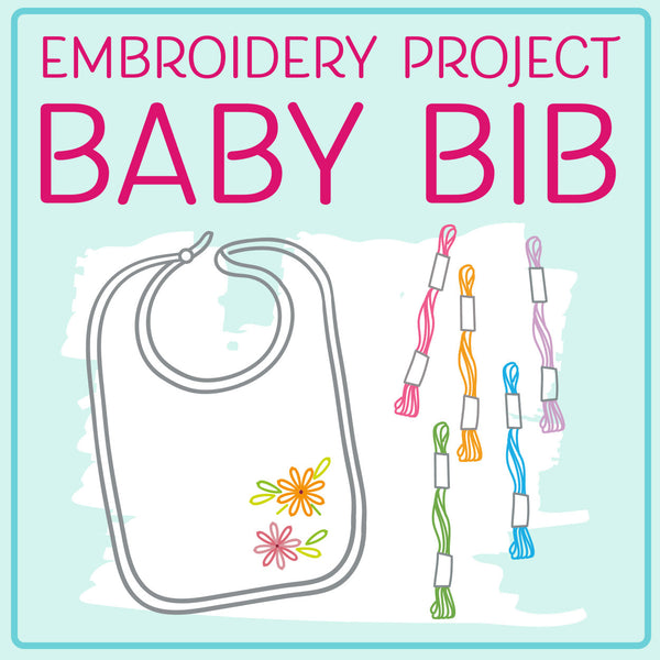 Baby Bib Embroidery Project