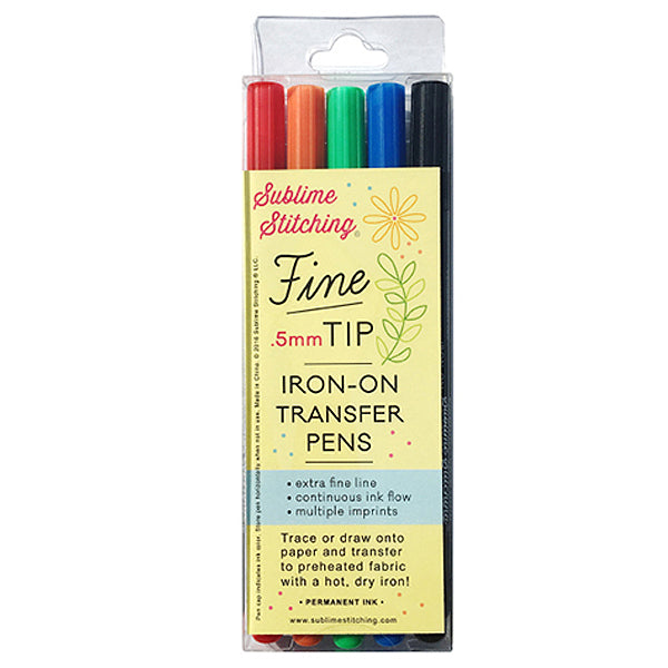 DISTR: Fine Tip Transfer Pens 5 PACK