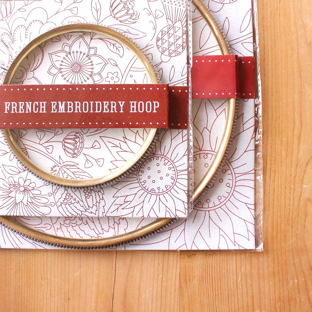 "6"" French Embroidery Hoop from French General"