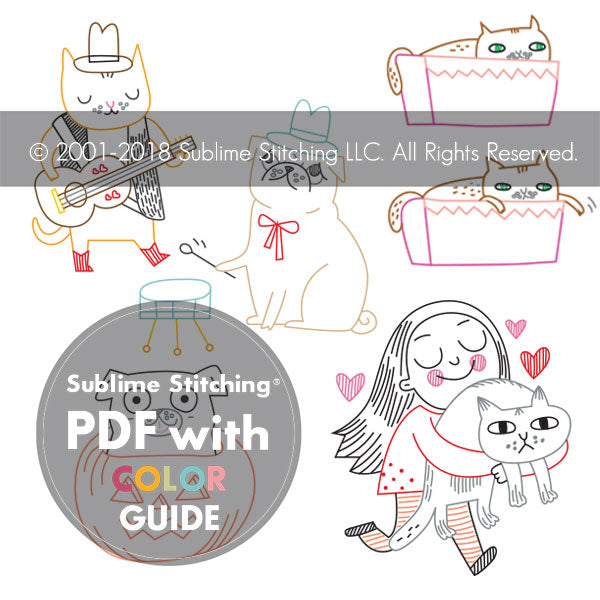 Sublime Stitching Embroidery Patterns Portfolio - GEMMA CORRELL