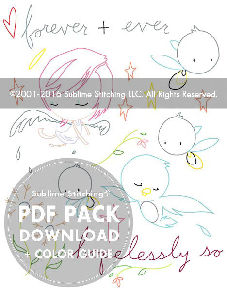 SMALL PACK Embroidery Patterns - KURT HALSEY