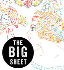 BIG SHEET Embroidery Patterns - KYLER MARTZ