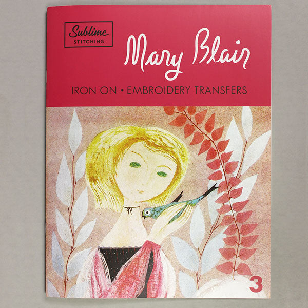 MARY BLAIR Embroidery Pattern Portfolio #3