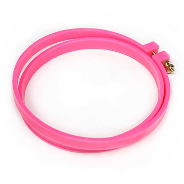 "5"" MIGHTY TIGHT Pink Embroidery Hoop"