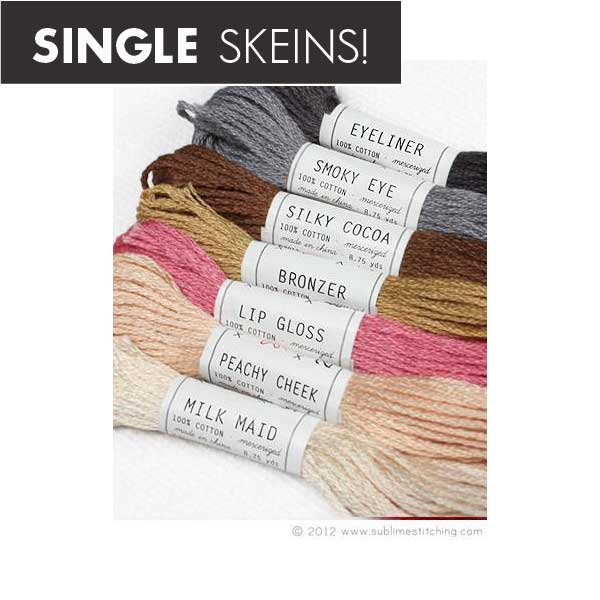 Individual Skeins Sublime Floss - PORTRAIT