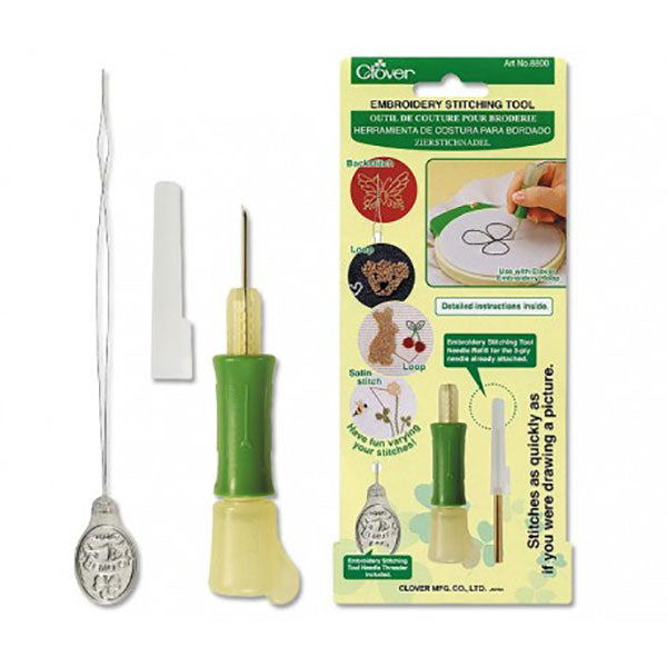 Clover Punch Needle Embroidery Stitching Tool