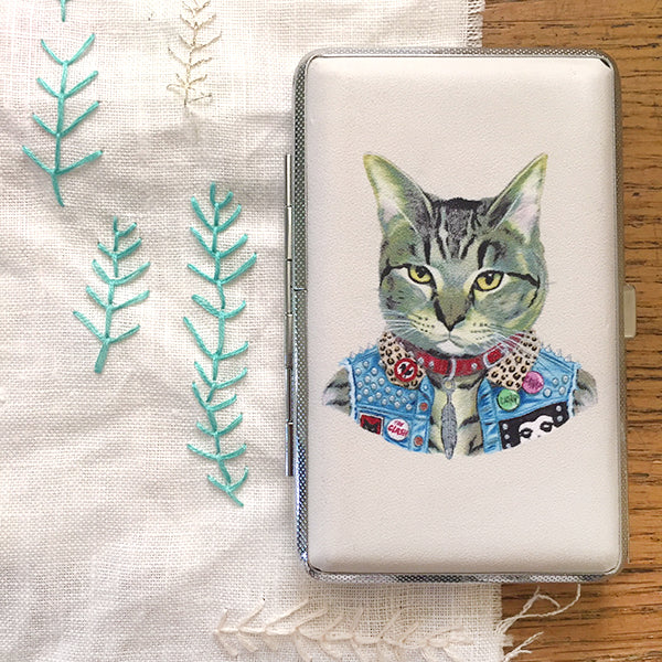 RYAN BERKLEY for Sublime Stitching - PUNK CAT Embroidery Tool Case