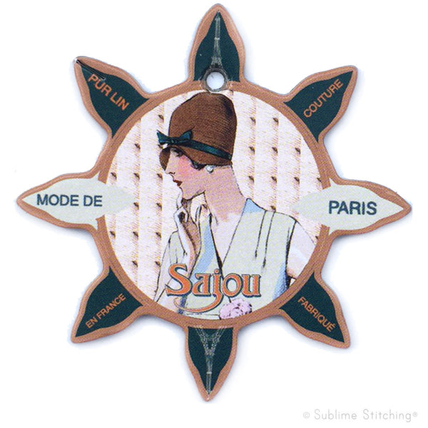 SAJOU THREAD BOBBINS - Mode de Paris