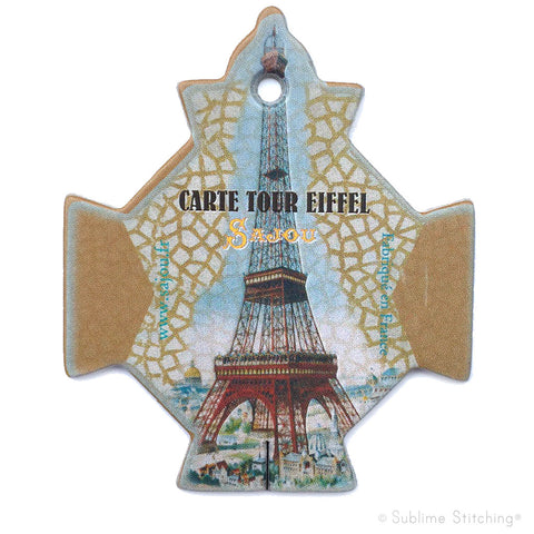 SAJOU THREAD BOBBINS - Tour Eiffel