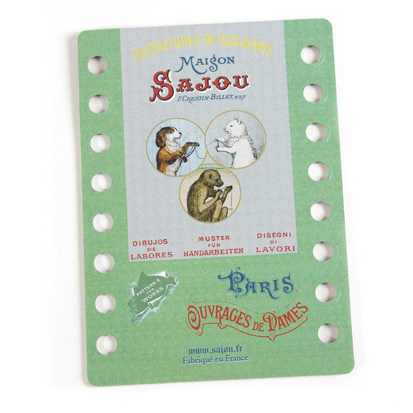 SAJOU THREAD ORGANIZER - Dog and Cat, Monkey Sewing