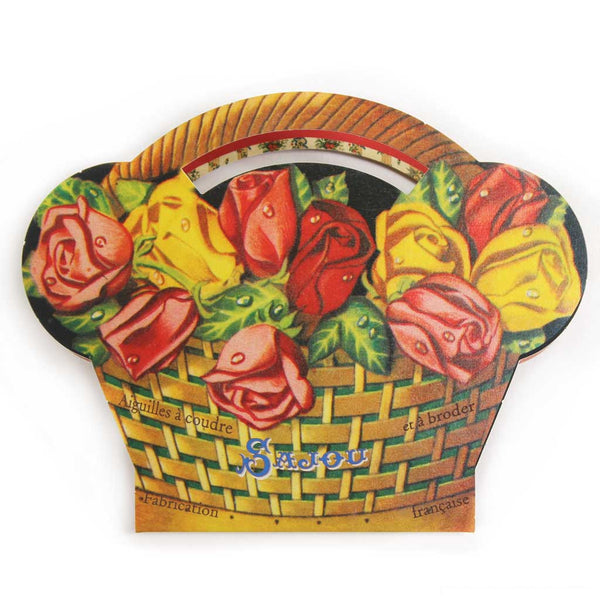 SAJOU NEEDLE BOOK - Rose Basket