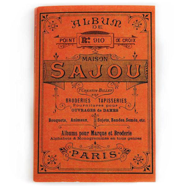 SAJOU CROSS STITCH EMBROIDERY PATTERN ALBUM - Cities of France