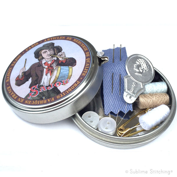 SAJOU SEWING TIN - Drummer