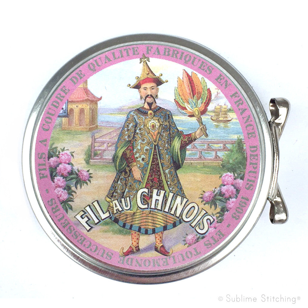 SAJOU SEWING TIN - Fil au Chinois