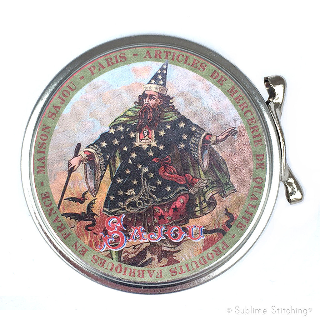 SAJOU SEWING TIN - Wizard