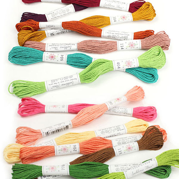 All 63 Colors Sublime Embroidery Floss™