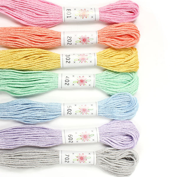 Sublime Embroidery Floss Palette - FROSTING