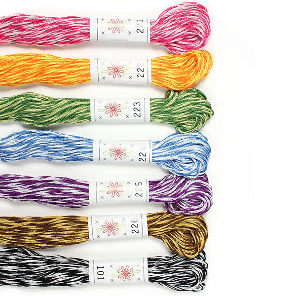 Sublime Embroidery Floss Palette - MINGLES