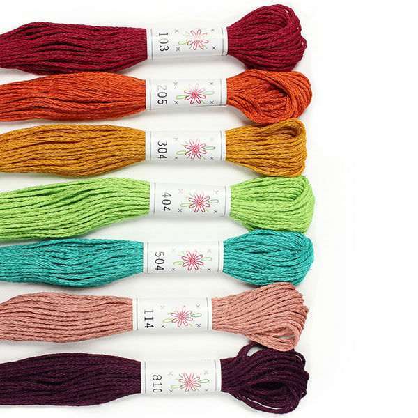 Sublime Embroidery Floss Palette - PARLOUR