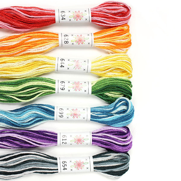 Sublime Embroidery Floss Palette - TAFFY PULL