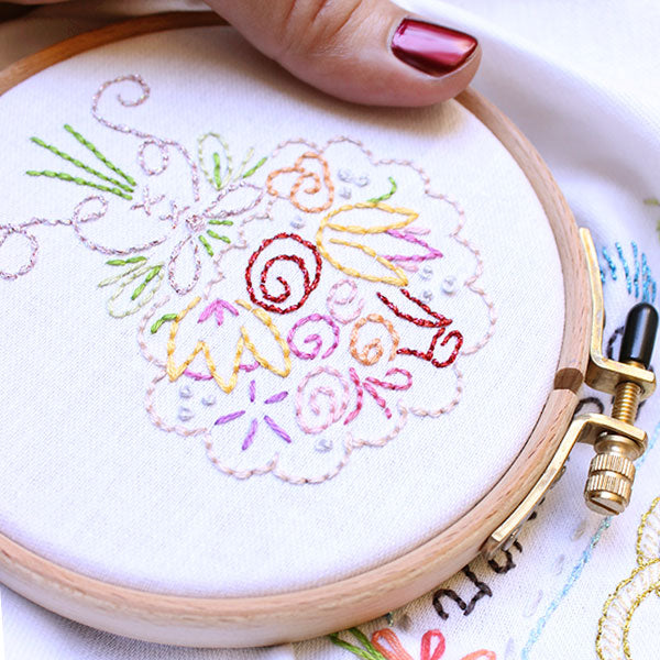 12mm Klass & Gessmann Embroidery Hoop