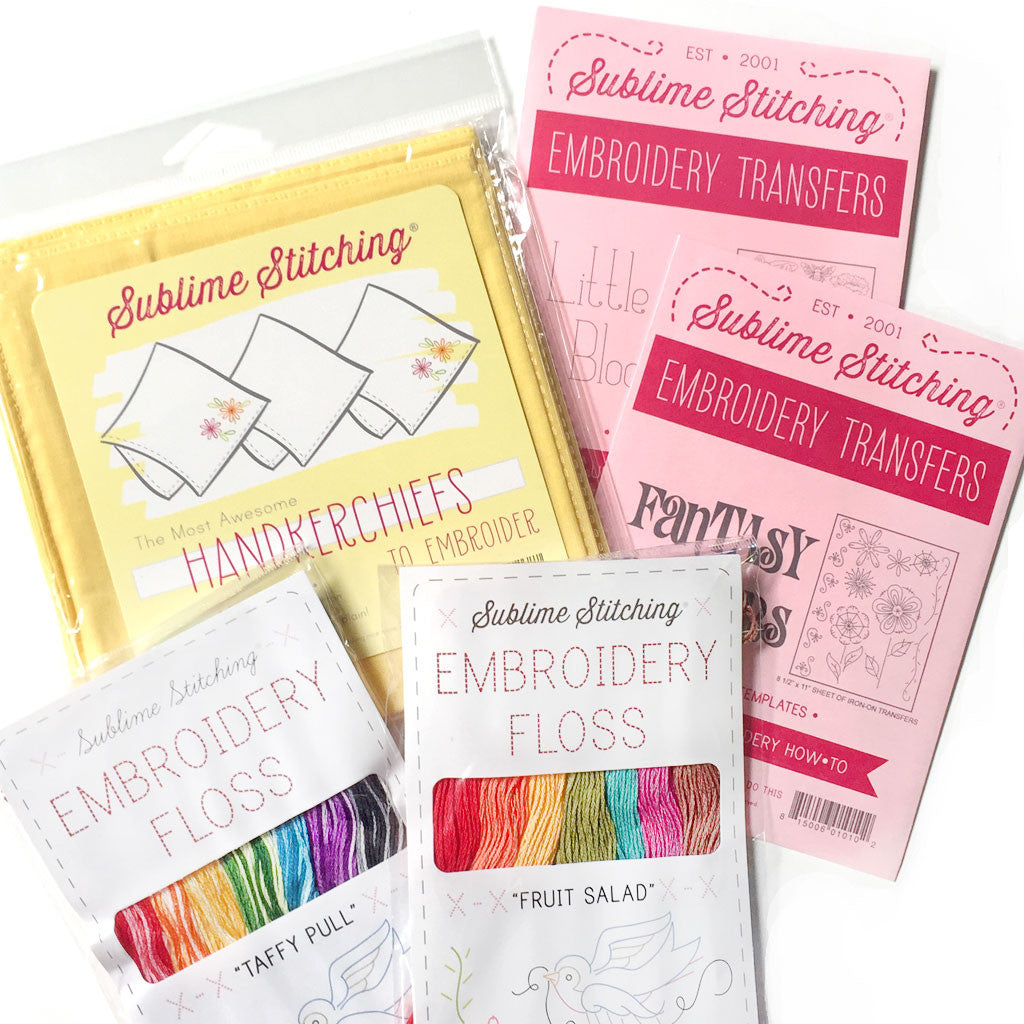 Spring Zing Embroidery Bundle