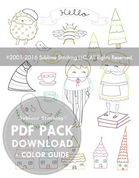 DUTCH RUSSIAN - 3 Themes Embroidery Patterns