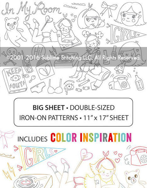 BIG SHEET Embroidery Patterns - TUESDAY BASSEN