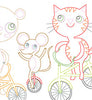 BIKE PARADE - Embroidery Patterns