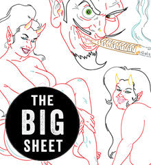 COOP Devil Girls - Big Sheet