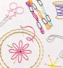 SMALL PACK Embroidery Patterns -  CRAFTOPIA