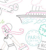BON VOYAGE - Embroidery Patterns