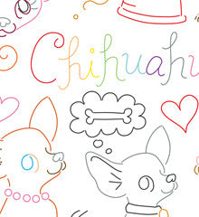 SMALL PACK Embroidery Patterns -  CHI CHI FEVER